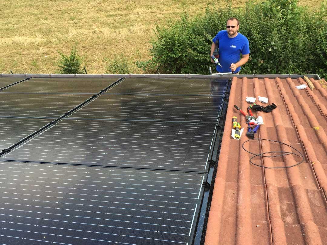 installation photovoltaïque à Thiré (85)