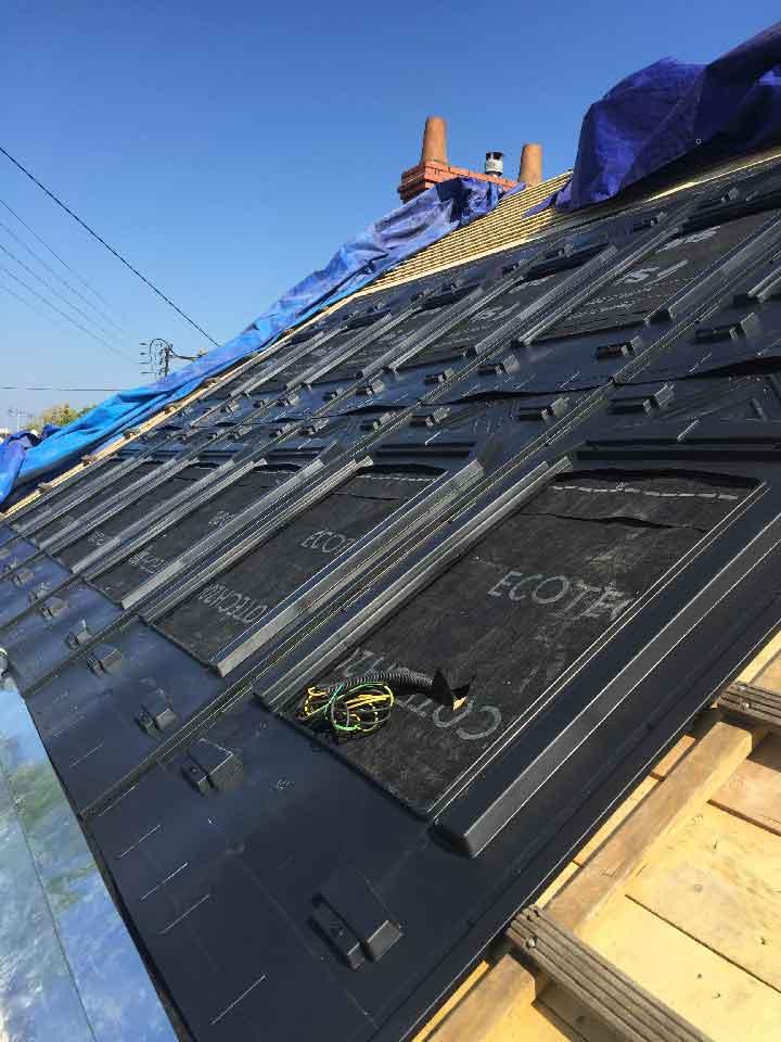 Rénovation étanchéité panneau photovoltaïques