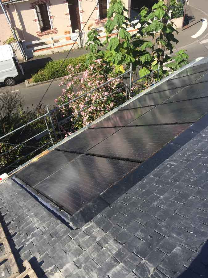 Étanchéité panneaux solaires