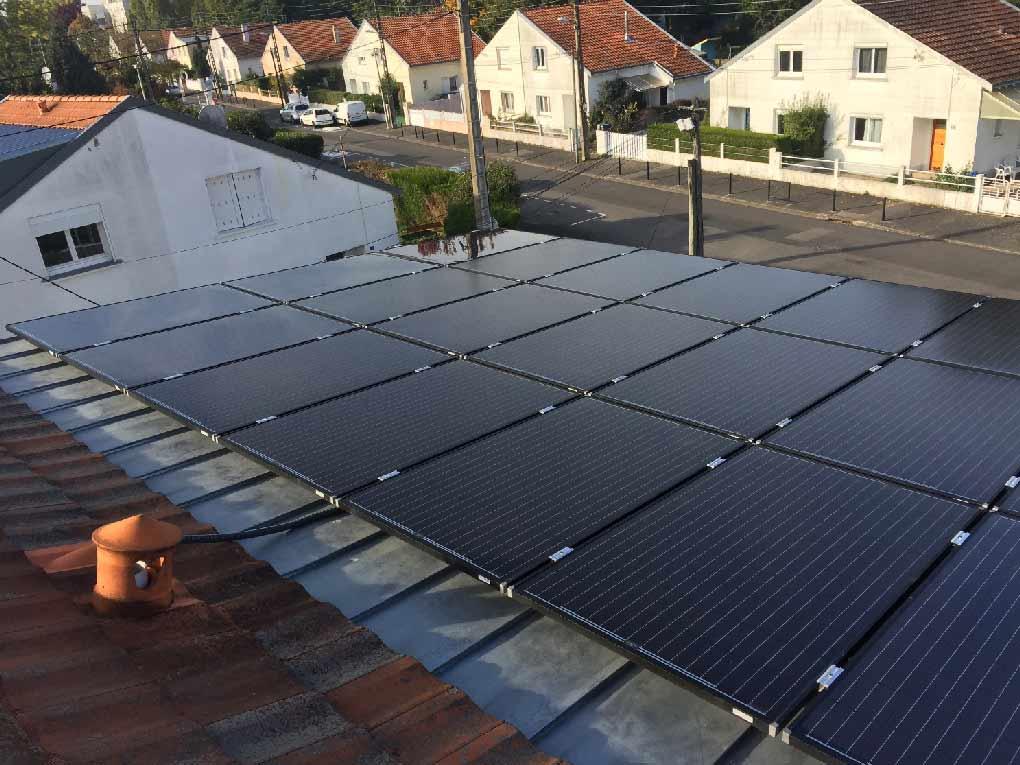 Autoconsommation d'électricité : panneaux photovoltaïque